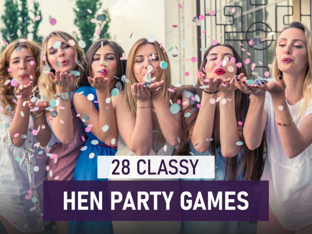28 Classy Hen Party Games
