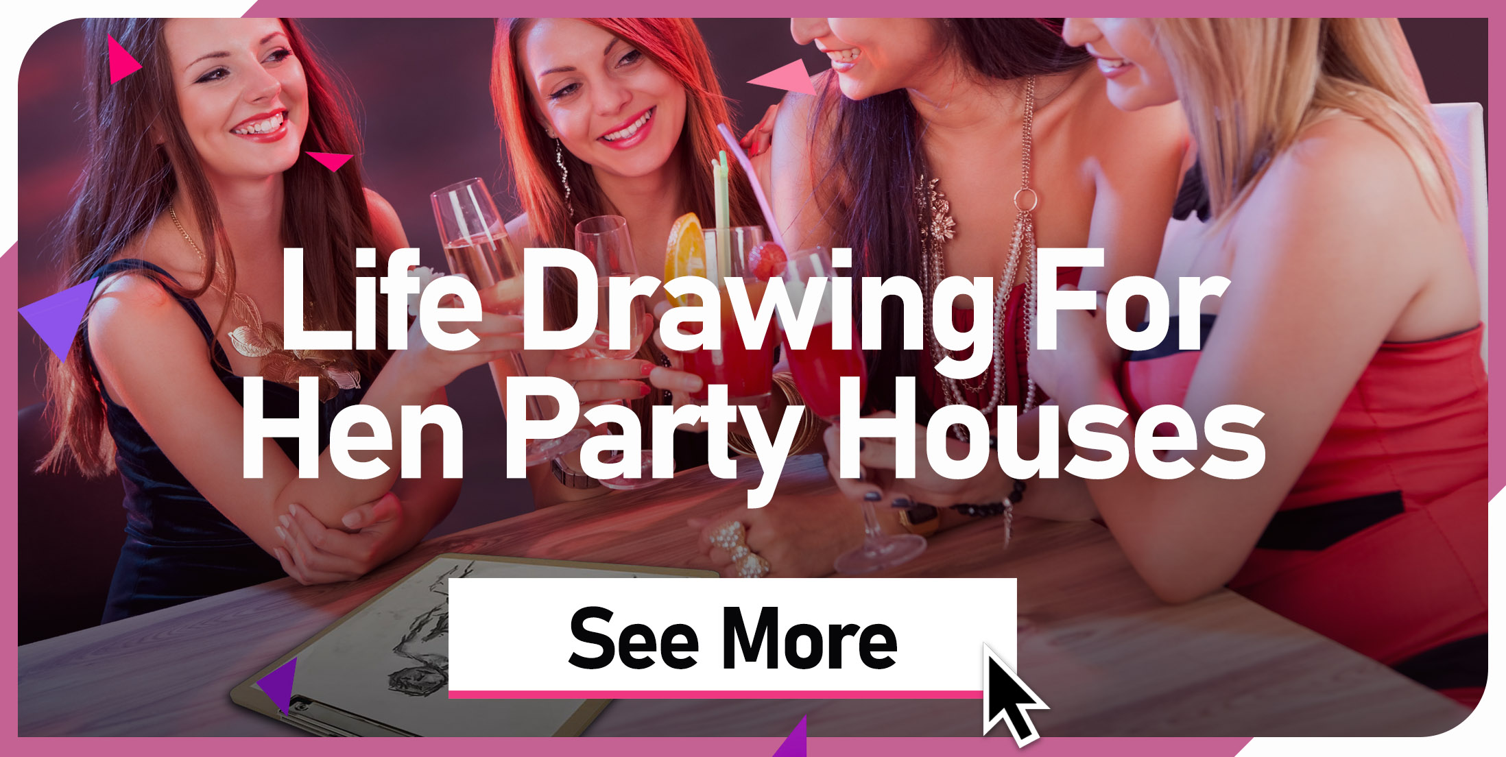 Life Drawing For Hen Party Houses