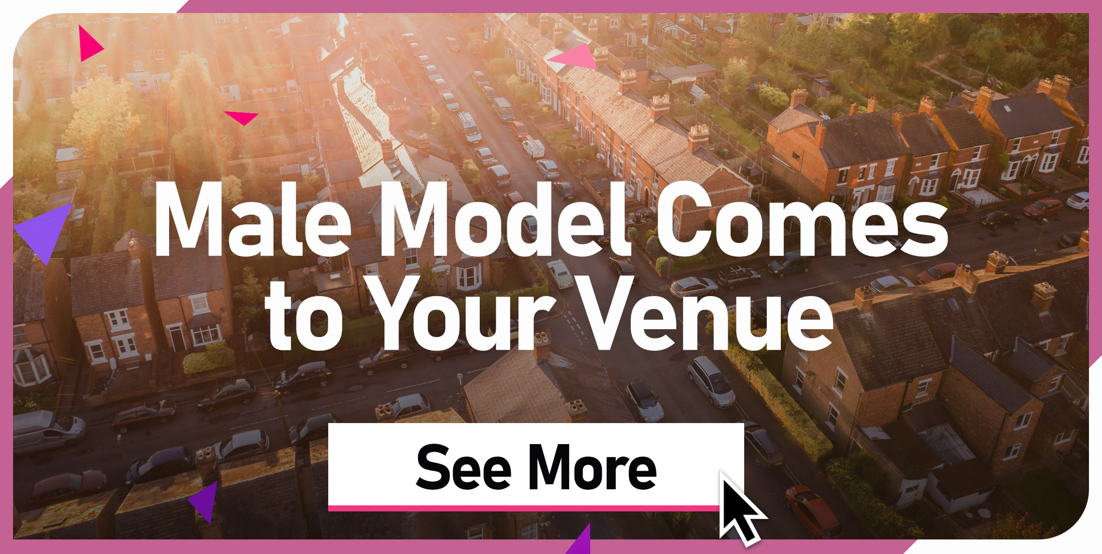 Male Model Comes to Your Venue