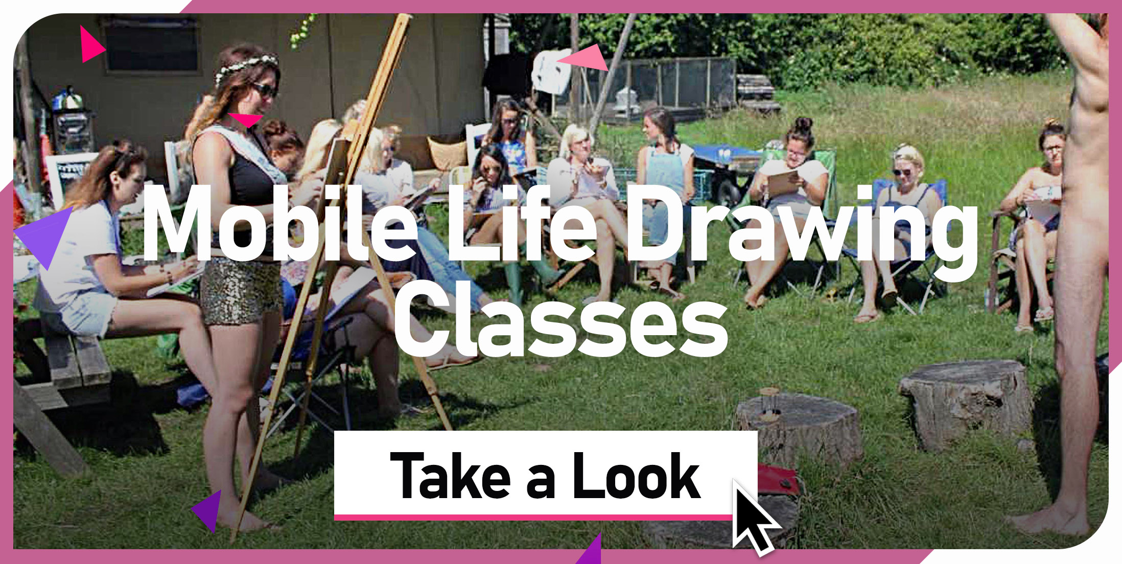 Mobile Life Drawing Classes